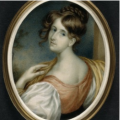 Portrait of young woman