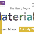 Henry Royce materials summer school . 1-4 July 2019.