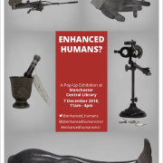 poster of the Enhanced Humans exhibition