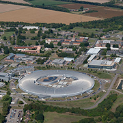 Aeirial view of The University of Manchester at Harwell campus