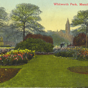 Old photo of Whitworth Park