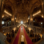 The Historic Reading Room of The John Rylands Library