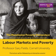 Image of Poverty Masterclass poster
